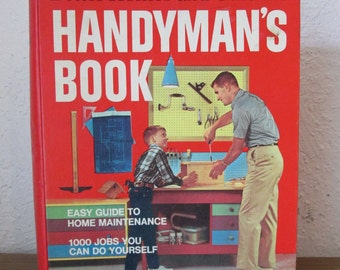 Vintage Handyman's Better Homes and Gardens 1972 Binder Style Book