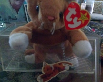 Ty beanie baby snip rare lot of errors 1st Edison