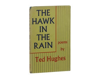 Hawk in the Rain ~ TED HUGHES ~ First British Edition ~ 1st Printing 1957