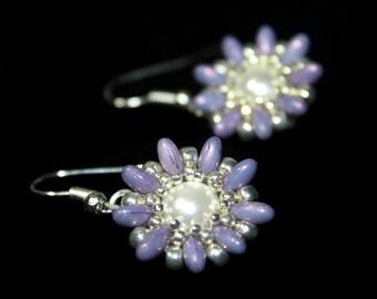 """Tutorial for earrings """"Spring Blossom"""""""