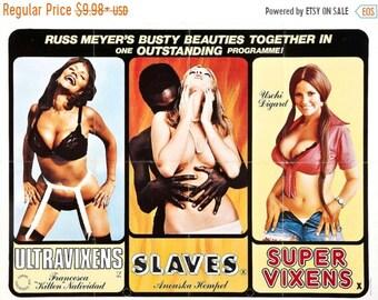 Spring Sales Event: RUSS MEYER'S Exploitation Movie Poster