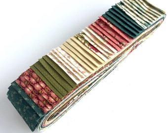 Quilting 40pc Strip Set in Edyta Sitar's Sequoia for Andover Fabrics - Jelly Roll, Quilting Pre-cut