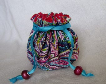 Jewelry Pouch - Medium Size - Traveling Jewelry Bag - Tote - ELECTRA