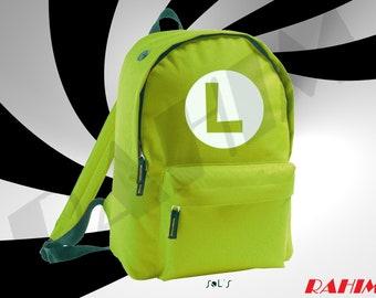 Luigi Super Mario Gamer, Backpack