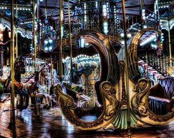 Paris Carousel, Paris Art, Paris Photo, Paris Photography, Carousel Wall Art, Carousel Photo, Carousel Photography, Art, Paris Art, Photo