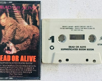 Dead Or Alive : Sophisticated Boom Boom (Cassette Tape)