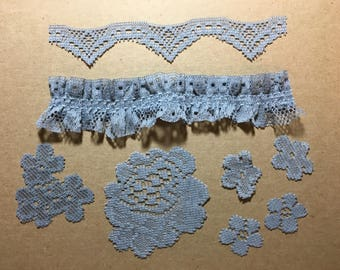 Vintage Lace Embellishments Junk Journal
