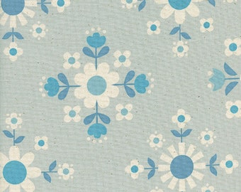 Cotton + Steel Florametry Ice, Wellsummer Fabric