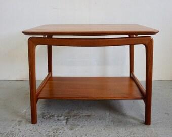 Peter Hvidt Danish Modern Teak Side Table