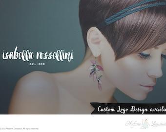 custom logo design brush font logo photography logo branding website logo blog logo watermark logo business logo typographic logo design