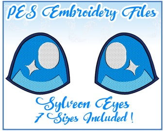 PES Sylveon Pokemon Eyes Embroidery Pack- more formats available!