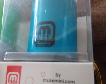 MUSEmini Portable Speaker for Iphone, Android, laptop, ipad, mp3