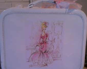 Shabby Chic Marie Antoinette Vintage Decorated Suitcase