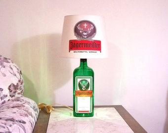 Jagemeister Bottle Lamp with Jagemeister Shade