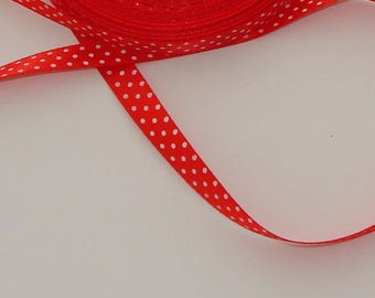 3 m 9.8 mm wide white dots Ribbon