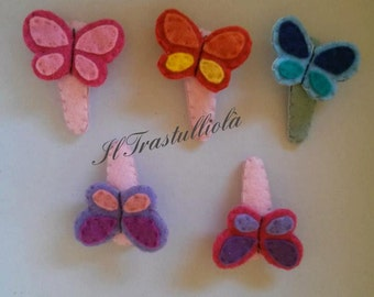 Butterfly- hairclip