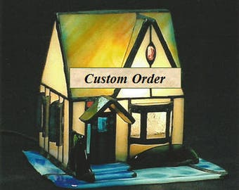 Your Custom Stained Glass Creation – What can I create for you? A Dream Come True , One-of-a-Kind,  Unique,  Handmade,  Worldwide Shipping