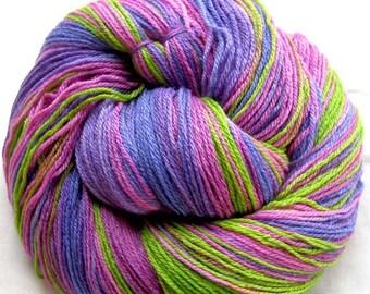 Sock Yarn Merino/Bamboo/Nylon 430 Yards Hand Painted