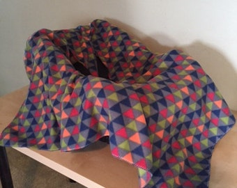 Car seat blanket/triangles