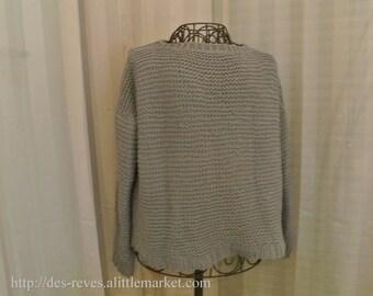Sweater - Sweater - sweater round neck - grey