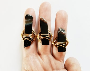 Queen Onyx Ring