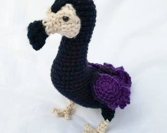Oiseau Dodo personnalisé au Crochet
