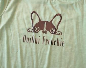 OuiOui Frenchie tee