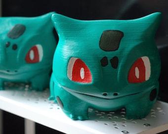 Bulbasaur Pokemon Go Cute 3D Printed Succulent Planter Geeky   Birthday   Housewarming Gift  