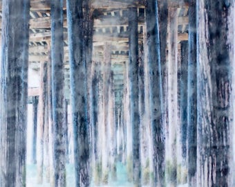 Quiet Perspective - Limited Edition Photo Encaustic