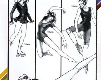 Stretch & Sew 317 Sewing Pattern by Ann Person for Misses' Leotard and Skating Dress - Uncut - Bust Sizes 28-44