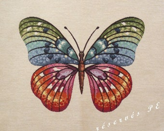 Fabric Panel tapestry Butterfly n 2 coupon