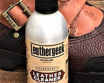 LeatherGeek™ Premium Leather Cleaner | All Natural & Handmade in the USA