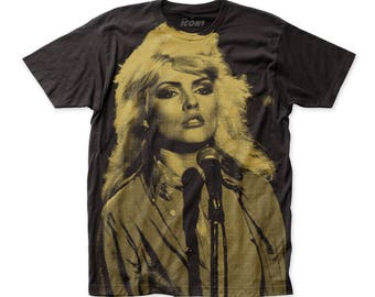 Debbie Harry Soft 30/1 Men's Cotton Subway Tee (SUBDH01) Black