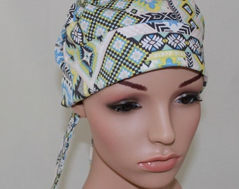 Dream Catcher,Surgical Scrub Hat,Chemo Style Scrub  Hat , Women's Surgical Scrub Hat,Vet,Vet Tech,OR Scrub Hat