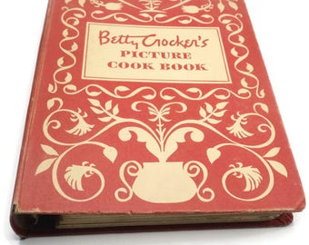 1950 Betty Crocker's Picture Cook Book First Edition 17th Printing Five Ring Binder