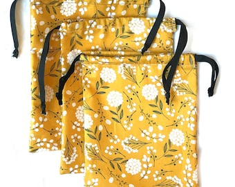 Yellow Floral Mystery Bag