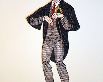 Barnabas Articulated Paper Doll