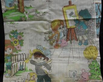 Cortinas Vintage JC Penney infantil