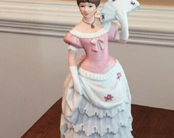 """Home Interiors Porcelin """"Shall We Dance"""" Vintage Figure"""