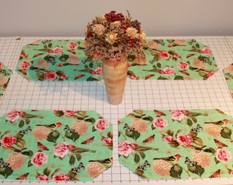 Reversible Springtime Placemats (Set of 6)