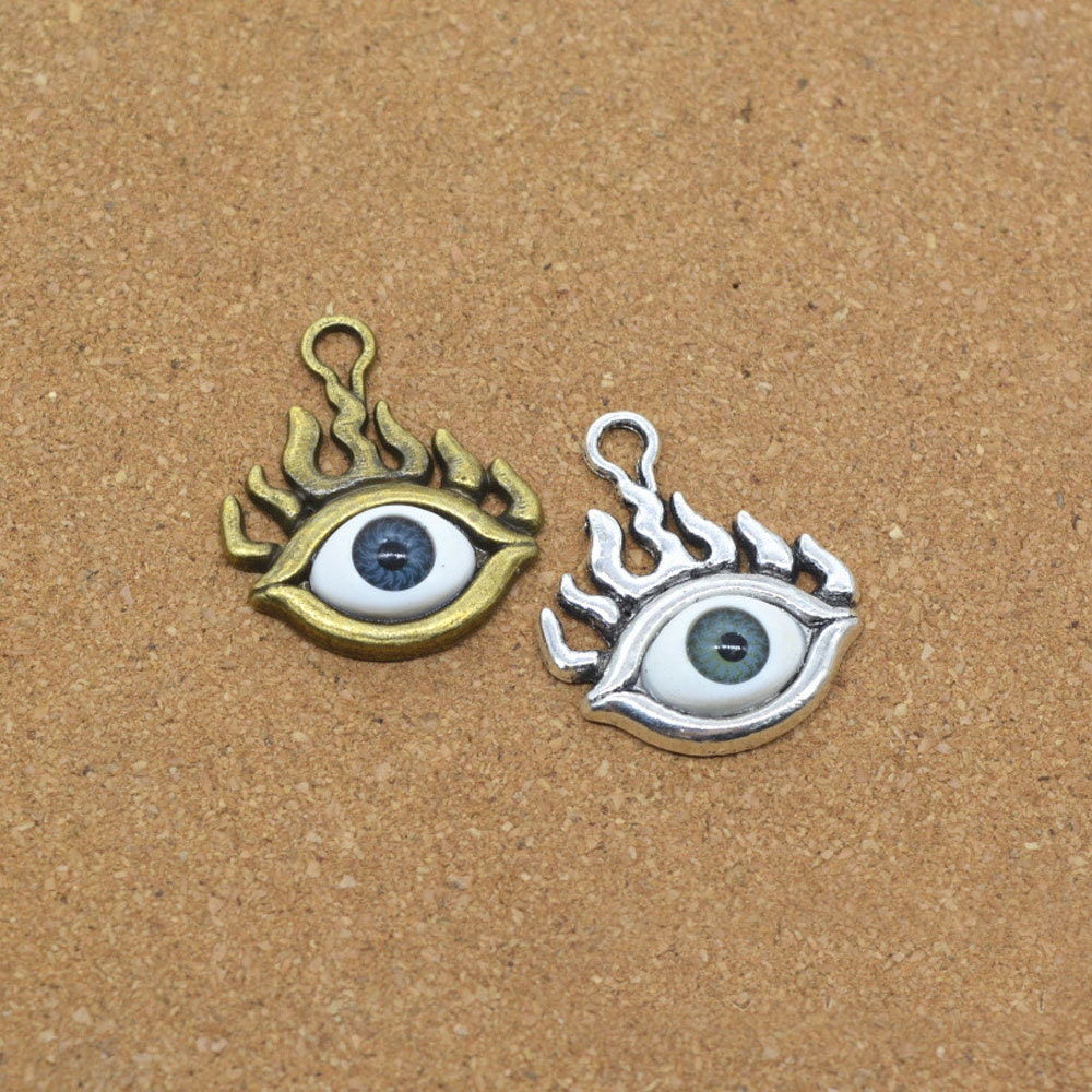 necklace earrings bronze a eyeball steampunk by made custom eye bse taxidermy antique buy dragon kasketkustoms eyeb