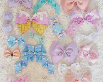 Mystery box, Kawaii Bow, Gift for Her, Subscription Box, Lucky grab bag, Monthly Subscription Gift, Monthly Box, Hair bows for girls,Toddler