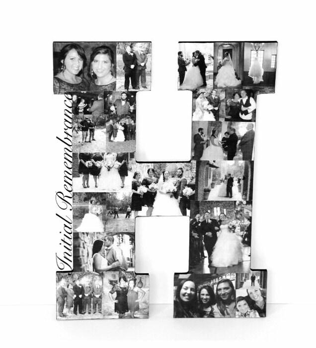 13 Photo Letter Collage Girlfriend Boyfriend graduation Wedding ...