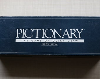 Pictionary The Game of Quick Draw First Edition 1985