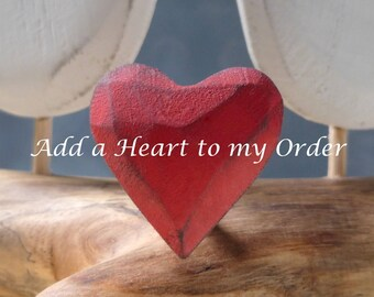 Add a Heart to my Cake Topper