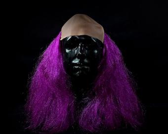 Long bald Clown Wig