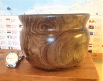 English Walnut Deep Bowl