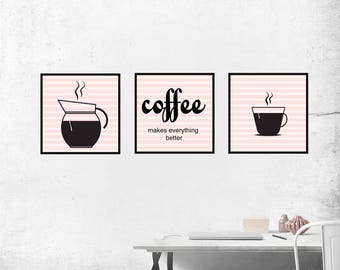 Instant Download, Coffee, Art, Pictures, Decoration