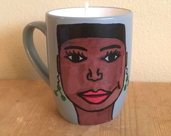 Soy Wax Candle - Black Woman
