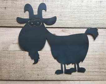 Billy the Goat Steel sign